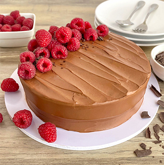 Raspberry Chocolate Mousse Cake - 2Kg