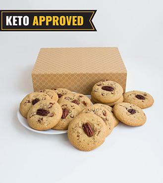 Keto Pecan Cookie By Broadway Bakery.