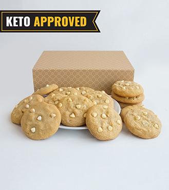Keto Macadamia Cookie By Broadway Bakery.