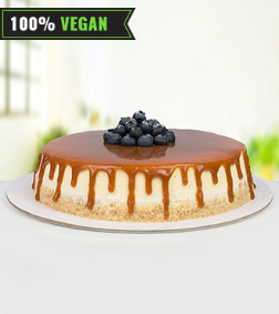 Vegan Caramel Cheesecake