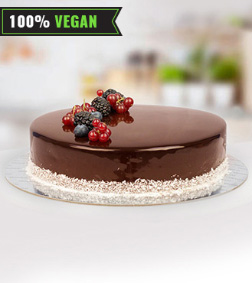 Vegan Signature Chocolate Cake