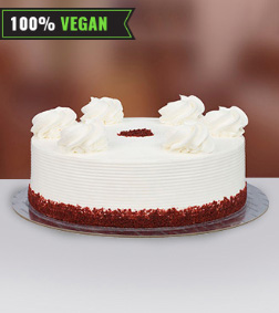 Vegan Red Velvet Dream Cake - 1Kg