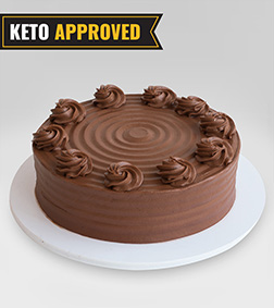 1KG Keto Signature Chocolate Cake By Broadway Bakery. Gluten Free, Sugar Free, Low Carb Dessert...