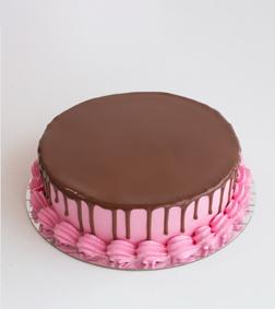 1KG Keto Strawberry Chocolate Cake By Broadway Bakery. Gluten Free, Sugar Free, Low Carb Dessert...