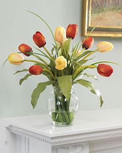 Simply Charming 10 Tulips