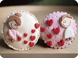 Heart Stuck On You Dozen Cupcakes