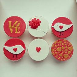 First Love Valentine's Day Dozen Cupcakes