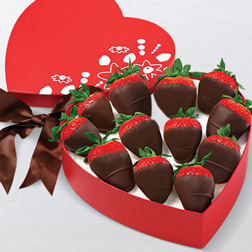 From The Heart Dozen Dipped Strawberries