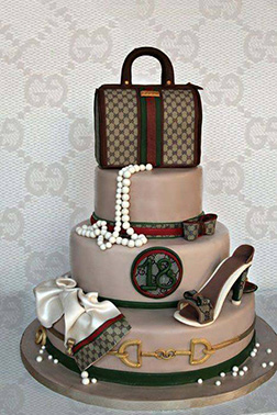 All Things Gucci Tiered Cake