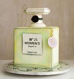 Chanel No. 25 Cake