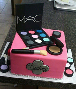 Mac Cosmetics Kit Cake