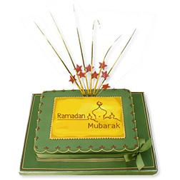 Festive Fireworks Ramadan Cake