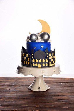 Blessed Eid Nights Cake