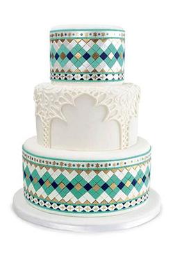 Eid Kareem Tiered Cake