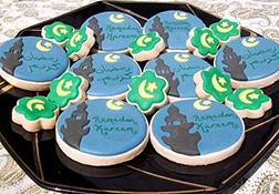 Minaret Art Ramadan Cookies