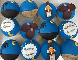 Ramadan Moon Dozen Cupcakes
