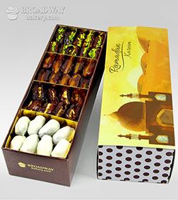 Blessed Traditions Dipped Dates Box