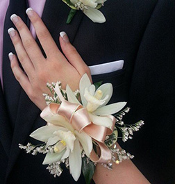 Sweetheart Ribbons Corsage