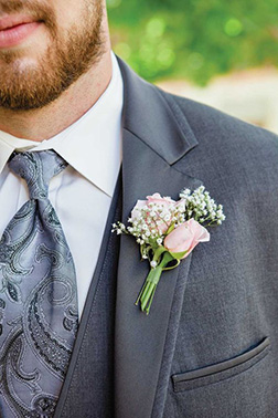 Best Man Boutonniere