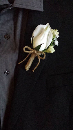 Man of Culture Boutonniere
