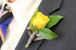 Bright Lights Boutonniere