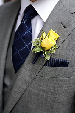 Date Night Boutonniere