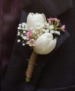 Wedding Reception Boutonniere