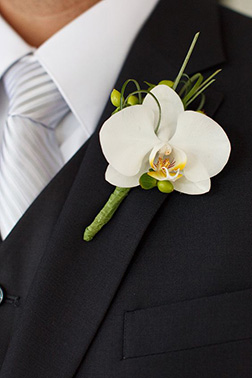 Clear Skies Boutonniere