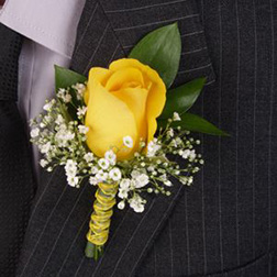 Sunny Day Boutonniere