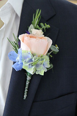 Blooming Luxury Boutonniere