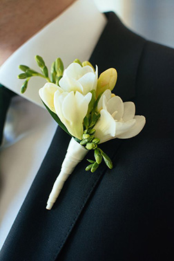 Innocent Wishes Boutonniere