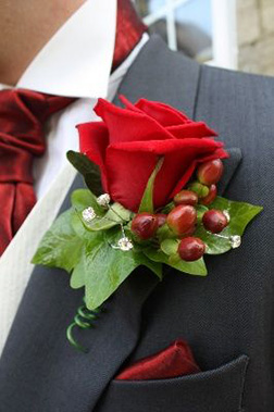 Prince Charming Boutonniere