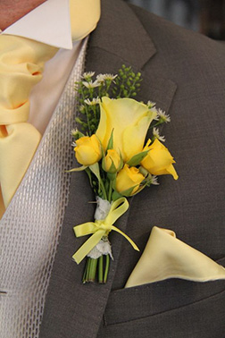 Everlasting Love Boutonniere