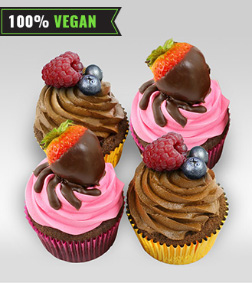 Two of a kind - Vegan Cupcakes