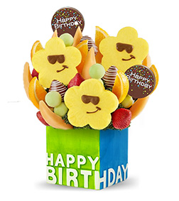 Birthday Treats Fruit Bouquet