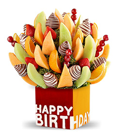 Birthday Cheer Fruit Bouquet