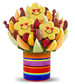 Rainbow Delight Fruit Bouquet