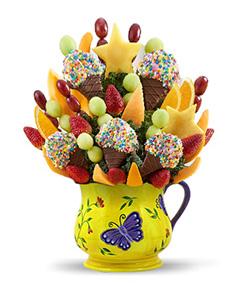 Butterflies & Confetti Fruit Bouquet