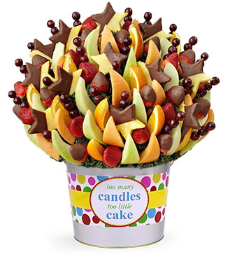 Delightful Dipped Treats Fruit Bouquet