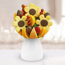 Sunflower Design Fruit Bouquet
