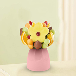 For My Sweetheart Fruit Bouquet