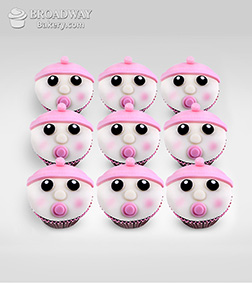 It's A Girl! Celebration Cupcakes