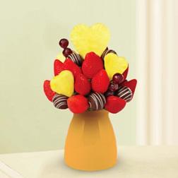 Sweetheart Decadence Fruit Bouquet