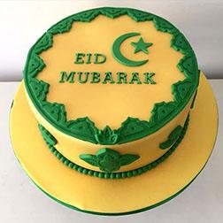 Classic Eid Wishes Cake