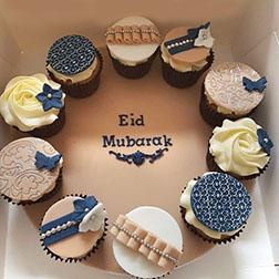 Designer Eid Cupcakes