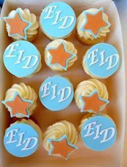 Eid Celebration Cupcakes