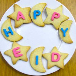 Happy Eid Wishes Cookies