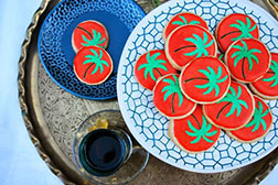 Palm Tree Eid Cookies