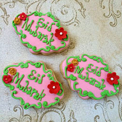 Fine Designs Eid Cookies