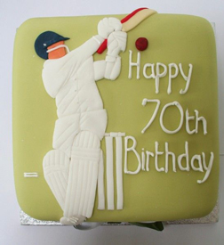 Star Cricketer Cake